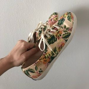 Rifle paper for keds women's shoes